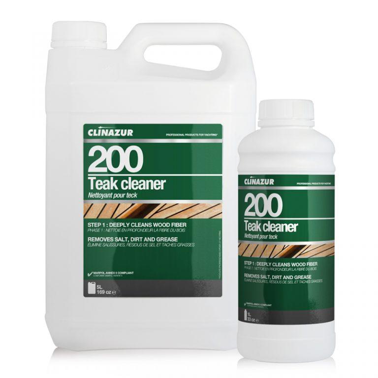 ClinAzur 200 Καθαριστικό Teak Cleaner