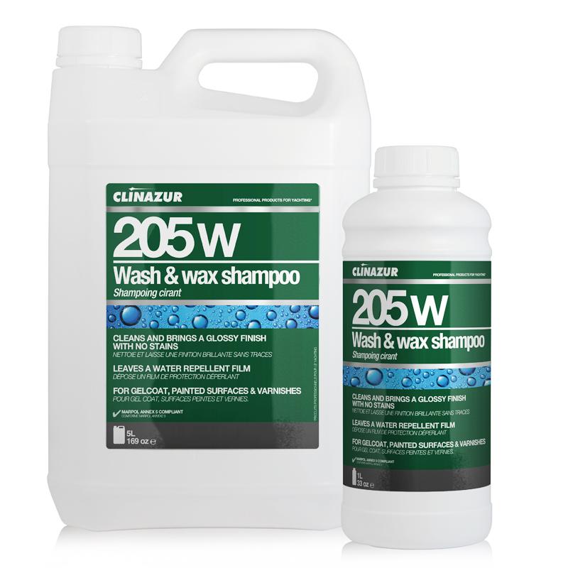 ClinAzur 205WW Καθαριστικό Wash & Wax Shampoo