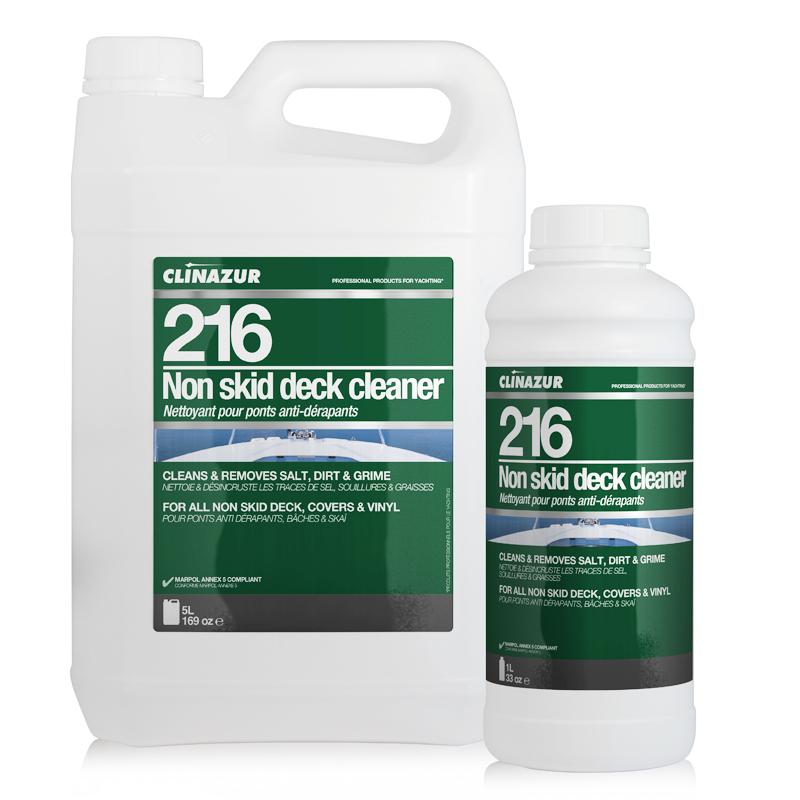 ClinAzur 216 Καθαριστικό αντιολισθητικού Anti-skid Deck Cleaner