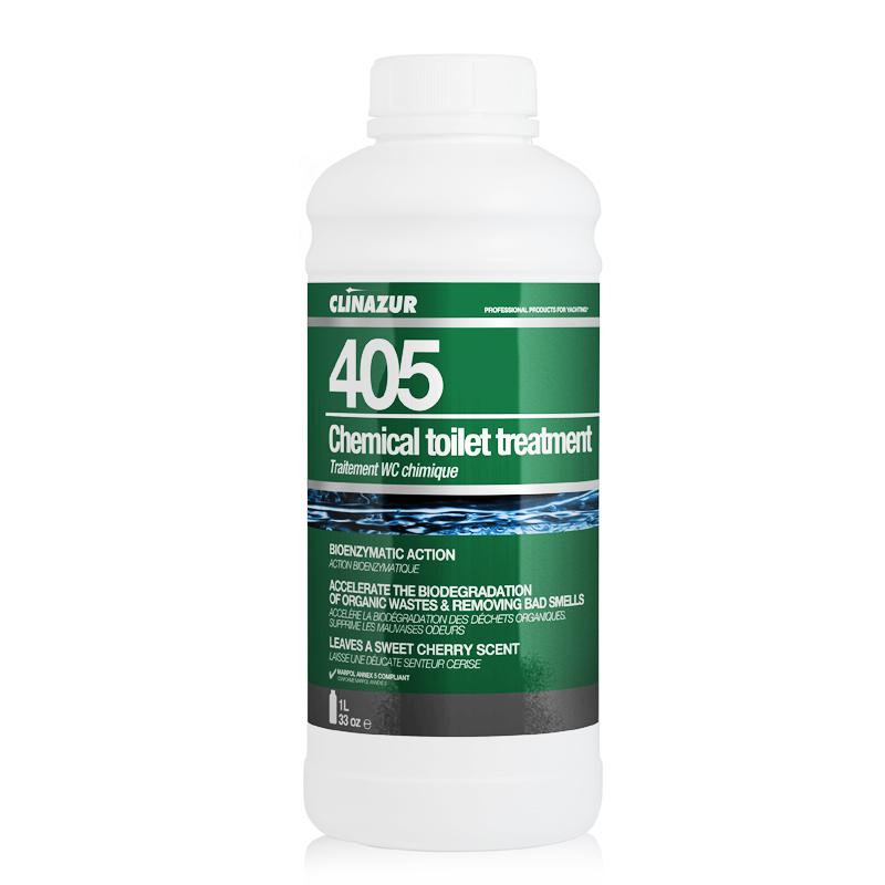 ClinAzur 405 Υγρό χημικής τουαλέτας Chemical toilet treatment
