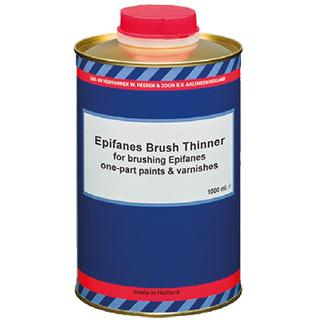 Brush Thinner for brushing Epifanes one-part paints & varnishes -ΔΙΑΛΥΤΙΚΟ πινέλων γιά βαφές & βερνίκια 500-5000ml