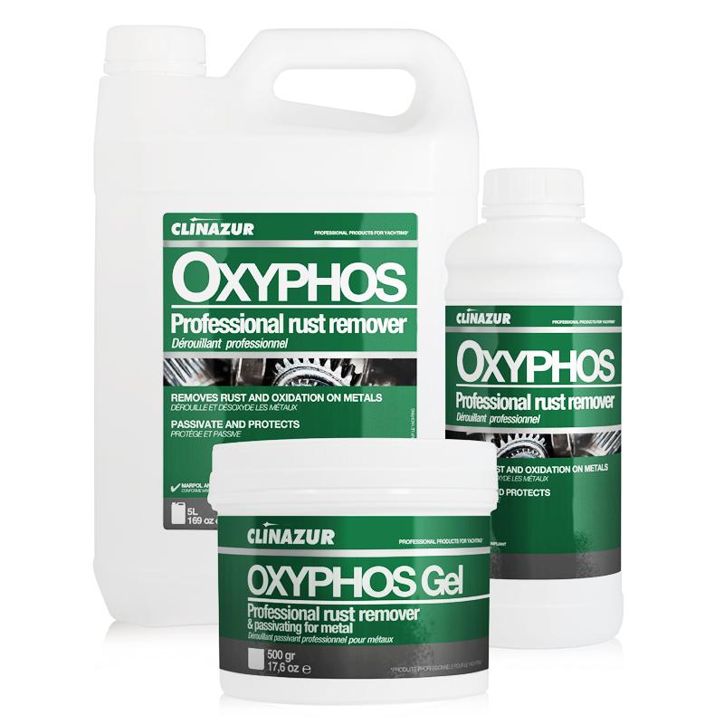 ClinAzur Oxyphos Καθαριστικό σκουριάς από μέταλλα